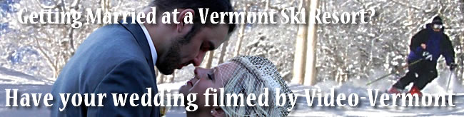 Link to wedding video by Video-Vermont